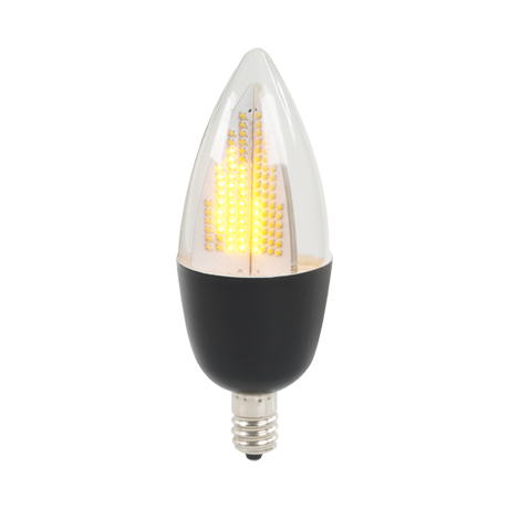 Flicker Flame Bulb 3002C Black Base